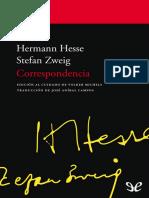 Zweig, Stefan & Hesse, Hermann - Correspondencia [1723] (r1.1)