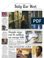 The Daily Tar Heel for Jan. 28, 2010