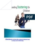 Understanding Stuttering on Children