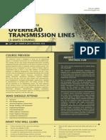 Transmission Line Training
