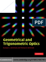 Geometrical and Trigonometrical Optics