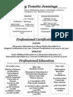 2015 basic resume