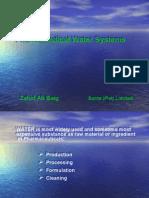 Pharmaceutical Water-Zahid Ali Baig