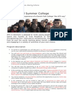 International Summer College in Denmark