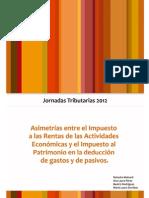 jornadas tributarias setiembre+2012 IRAE IP URUGUAY