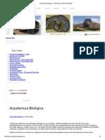 Arquitectura Biológica - Geometría y Diseño Sustentable