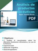 Análisis de Productos Farmacéuticos Clase 1