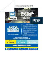 TOR - Tropical House Architecture Competition 2015