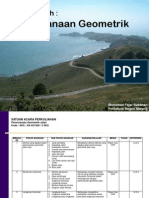 Handout Perencanaan Geometrik 2013