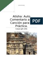 Atisha Auto Comentario a La Canción Para La Práctica.