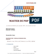 Master Php 3