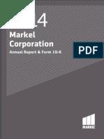 Markel Corporation Annual Report 2014