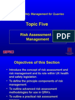 Risk Assessment Work Place