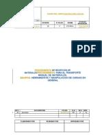 PLO8-4000-Q3-C-005_Rev02 - Procedimiento DeTransporte Manual de Cargas