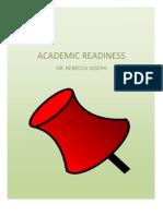 Academic Readiness