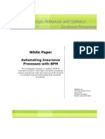 White Paper Automating Insurance Processes With BPM