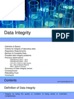 Presentation on Data Integrity in Pharma