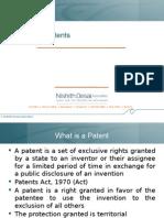 Basics of Patents