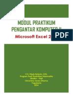 2. Modul Praktikum PKomp EXCEL 2013