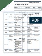 Matematicas Planificacion - 2 Basico