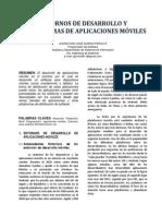 Entornos de Desarrollo y Plataformas de Aplicaciones Móviles - Paper