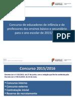 Concurso Docentes 2015 25 Fev Apresenta Mec
