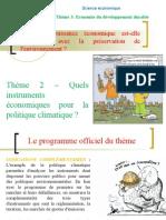 thème 312 - Quels instruments économiques pour la préservation de l'environnement.ppt