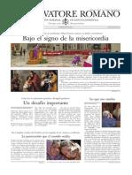 L´OSSERVATORE ROMANO - 20 Marzo 2015
