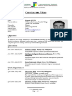 Sample CV Copy