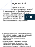Management Audit