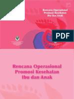 Buku Rencana Operasional Promkes Kia