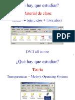 Que Estudiar -  Sistemas Operativos