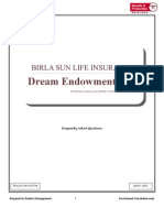 Dream Endowment Plan FAQs Final