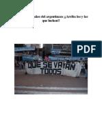 Dossier Argentina