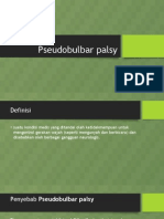 Referat Pseudobulbar Palsy