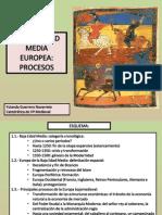 1 - La Baja Edad Media. Procesos