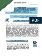 Introduccion Al Uso Del Procesador de Textos 2014