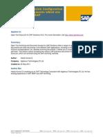 Open Text Documentlink Configuration