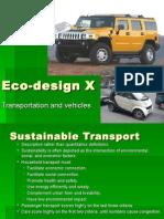 Eco-Design X Transportation