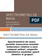 Spectrometru de Masa