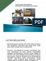 Microsoft Powerpoint - Outline Tugas Transportasi