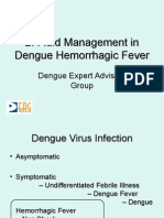 Fluid Management in Dengue Hemorrhagic Fever
