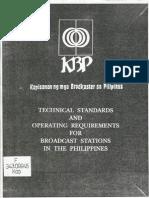 KBP Technical Standards
