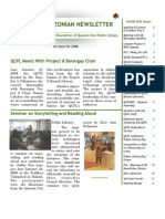 Quezonian Newsletter April 2008