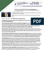 The FOMC Ignores Weak Housing