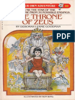 The Throne of Zeus - Choose Your Own Adventure 40