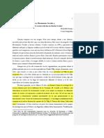 Svampa, Maristella. Protesta, Movimientos Sociales y Dimensiones de La Acción Colectiva en América Latina