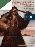 Edge of the Empire - Beginner Game - Character Folio - Lowhhrick