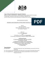 Upper tribunal 2012 ruling on Prince Charles letters
