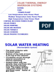 Ch 5-Solar Thermal Energy Conversion Systems